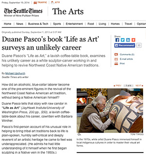 Seattle Times article on Duane Pasco